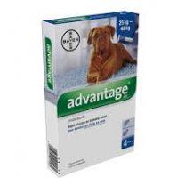 Advantage 400 Hond ( 25 - 40 kg ) 4 x 4,0 ml pipetten