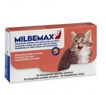Milbemax kleine kat 20 tabletten