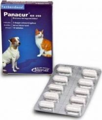 Panacur KH 250 mg 10 tabletten