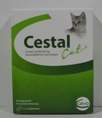 Cestal (Cestem) Kat 2 tabletten