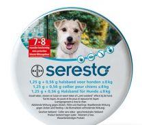 Seresto halsband tegen Vlooien en Teken voor Honden tot 8 kg