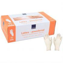 Handschoenen Latex middel 100 st.