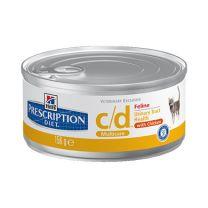 Hill's™ Prescription Diet™ c/d™ Multicare Feline (Chicken) 24X156 gr