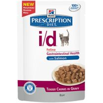 Hill's Prescription Diet i/d Feline (Salmon) 12X85 gr