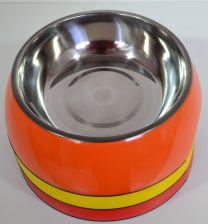 Hondendrink- / voerbak groot (21cm)