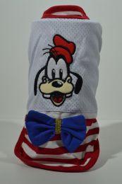 T' shirt rood/wit Hond met strik M